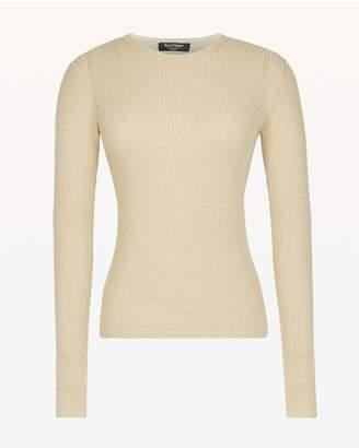 Juicy Couture Metallic Rib Knit Top