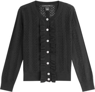 Marc Jacobs Wool Cardigan with Silk
