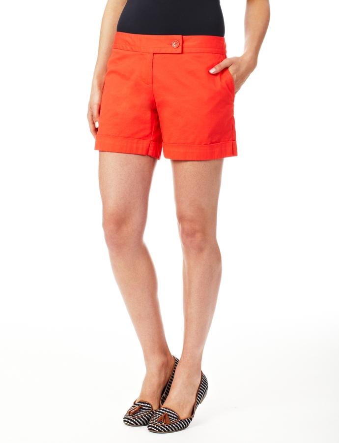 Drew Cuffed Trouser Shorts