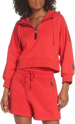 Nike Collection Women's Half Zip Fleece Hoodie