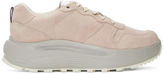 Eytys Pink Suede Jet Combo Sneakers