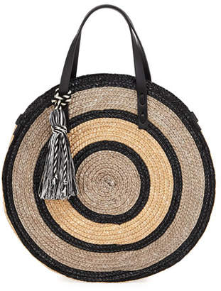 Rebecca Minkoff Straw Circle Tote Bag