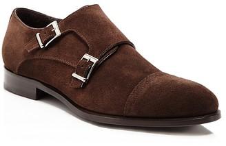 Crosby Square Conley Cap Toe Double Monk Strap Dress Shoe $275 thestylecure.com