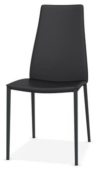 Calligaris Aida Regenerated Leather Upholstered Dining Chair