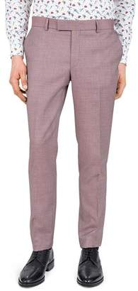 The Kooples Psychedelic Diamond Slim Fit Dress Pants
