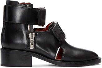 3.1 Phillip Lim Black Addis Boots $695 thestylecure.com