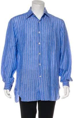 Kiton Woven Dress Shirt