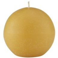 Textured  Ball Candle