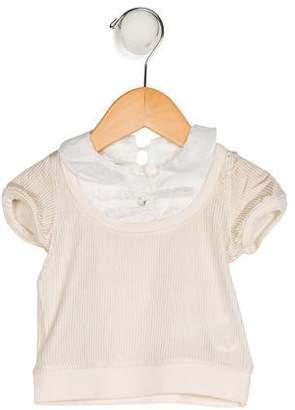 I Pinco Pallino Girls' Pinstripe Knit Top