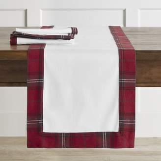 Williams-Sonoma Williams Sonoma Tartan Border Table Runner
