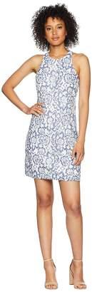 Adrianna Papell Elise Lace A Line Dress Women's Dress
