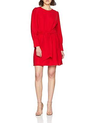 PepaLoves Women's Penny Tied UP Dress RED 0, 8 ('s Size:X-Small)