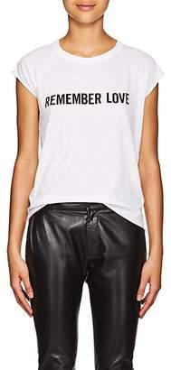 "Nili Lotan Women's ""Remember Love"" Cotton T-Shirt"