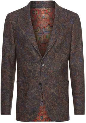 Etro Wool Paisley Blazer