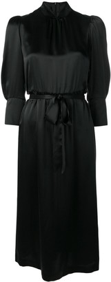 Simone Rocha belted midi dress