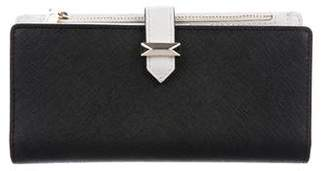 Rebecca Minkoff Crosshatch Leather Wallet