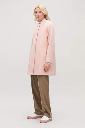Cos A-LINE WOOL COAT WITH POCKETS
