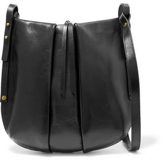Isabel Marant Lecky Leather Shoulder Bag - Black