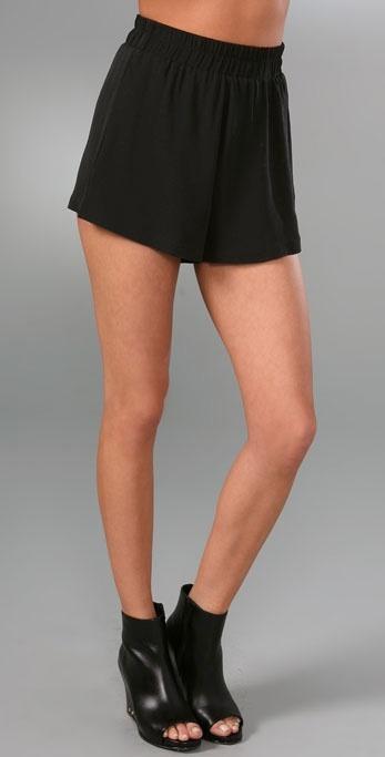 Kimberly Ovitz Eugene High Waisted Shorts