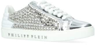 Philipp Plein Metallic Ruth Stud Sneakers