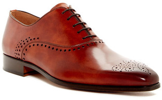 Magnanni Perforated Leather Oxford $435 thestylecure.com