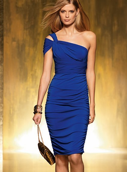Ruched Convertible Dress