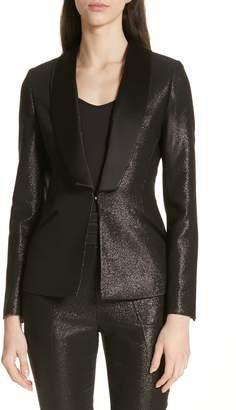 Ted Baker Caysi Metallic Tuxedo Suit Jacket