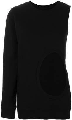 Faith Connexion asymmetric cut-out sweater