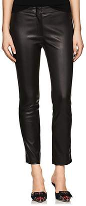 Derek Lam Women's Drake Leather Crop Pants