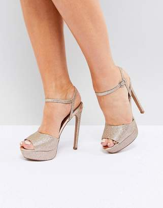 +Hotel by K-bros&Co ASOS DESIGN ASOS HOTEL Platform Heeled Sandals