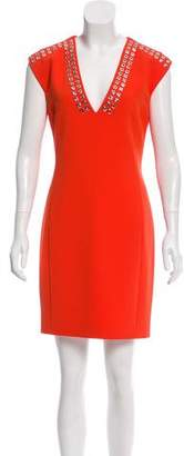 Barbara Bui Grommet-Accented Mini Dress w/ Tags