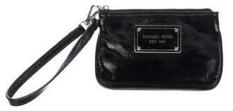 MICHAEL Michael Kors Patent Leather Zip Pouch