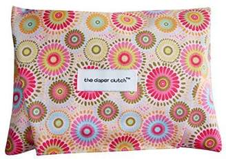 The Diaper Clutch Diaper and Wipe Case - Pink Medallion