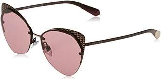Bulgari Women's 0BV6096 20321A Sunglasses