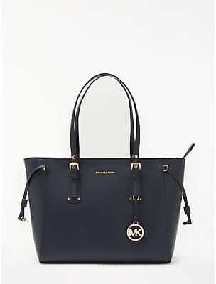 Michael Kors MICHAEL Voyager Leather Medium Tote Bag