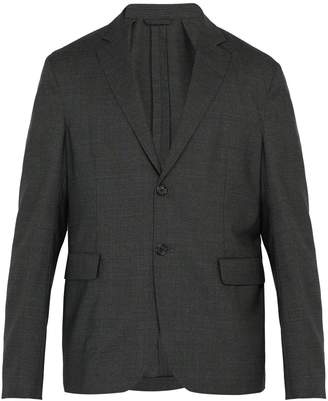 Acne Studios Antibes single-breasted wool blazer