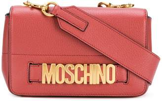 Moschino small logo flap bag