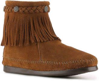 Minnetonka Back Zip Western Bootie - Women's