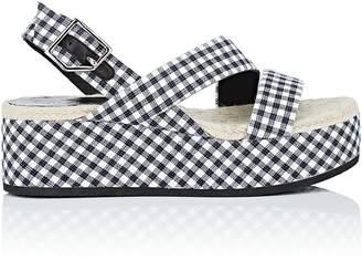 Rag & Bone Women's Megan Gingham Platform Sandals