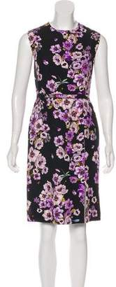 Giambattista Valli Floral Sleeveless Dress