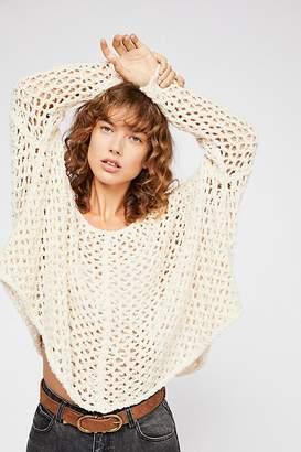Fishing Net Crew Neck Sweater