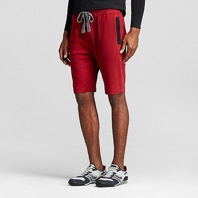 Men's Activewear Shorts Cabernet Red - Evolve By 2(x)ist