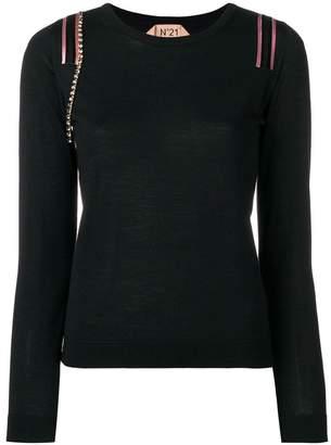 No.21 embellished sweater