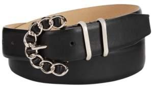 Steve Madden Chain-Buckle Belt