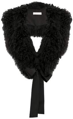 Zimmermann Shearling Collar