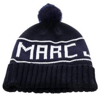 Marc Jacobs Logo Pom-Pom Beanie