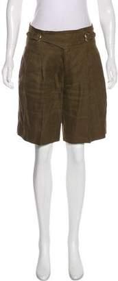 Gucci Knee-length Linen Shorts