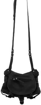 "Jerome Dreyfuss Twee Mini"" Black Crossbody Handbag"