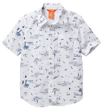 Joe Fresh Allover Print Woven Top (Little Boys & Big Boys)