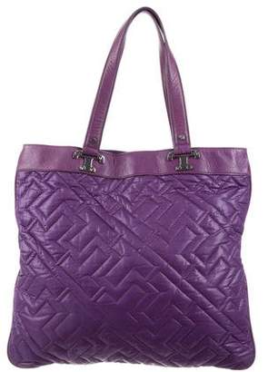 Tory Burch Quilted Nylon Tote